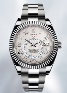Here we are... NEW #Rolex Oyster Perpetual #SKY-DWELLER from Basel!