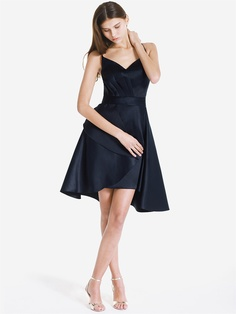 Wear-2-Way Satin V-Neck Dress | Plus and Petite sizes available! Hundreds of styles, tons of colors!