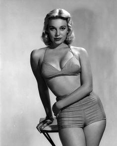 1950's pin-up model Sally Todd