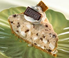 S'mores ice cream pie. #food #smores #camping #dessert