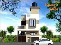 Want to make Your Duplex House Design Perfect, Apnaghar is having professional Team.  Duplex House Design in 108m2 (9m X 12m)  View the Floor Plan here: http://apnaghar.co.in/house-design-426.aspx   Call Toll-Free No.- 1800-102-9440 Email: support@apnaghar.co.in