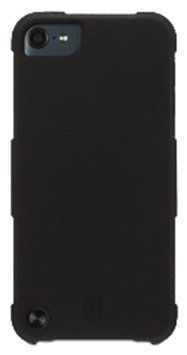 Griffin Protector for iPod touch 5 - Black ($29.99) Everyday-duty case. Thick silicone cladding absorbs bumps and jolts. Custom cutouts for easy access to dock connector, camera and controls . Part of the Griffin family of ruggedized cases.