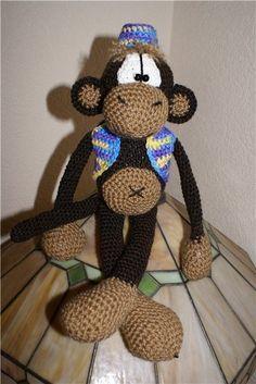 crochet monkey tutorial
