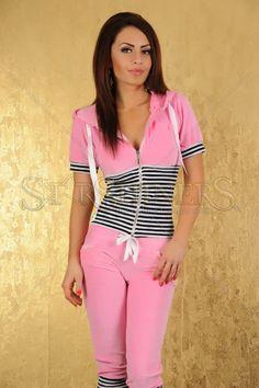Set Sport My77 Vibrating Pink hain de, cu stil, colecti starshin, vara cu, noua colecti, set sport, vibrat pink, de vara