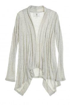 Light knit cardigan