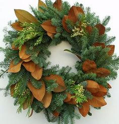 Fresh evergreen Christmas wreaths, swags and garland plus fresh wreaths for anytime of year