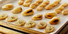 Baking with puff pastry. Anna Olson recipe. Savoury Hors D'Oeuvres Recipe