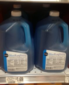 Blue drink from Publix
