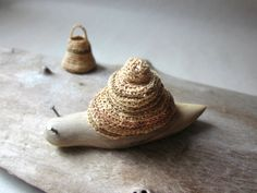 Snail ,wood carving