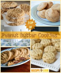 Our Top 10 Peanut Butter Cookie Recipes + 6 Bonus Cookies