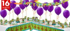 Scooby Doo Party Supplies Deluxe Kit - Girls Birthday Party Themes - Girls Birthday - Birthday Party Supplies - Categories - Party City