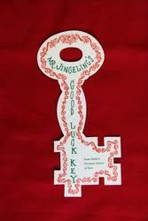 Mr. Jingeling's key when you visited