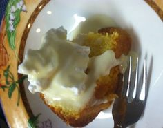 Walk's Lemon Pound Cake with Houlka Sauce  (An old Mississippi recipe that has been passed down through 4 or 5 generations).