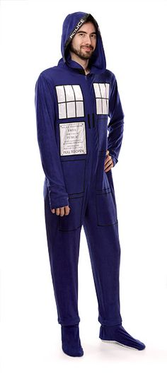TARDIS. Onesie. For grownups.