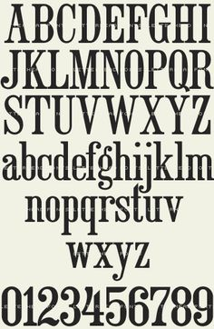 Old Fashioned Font