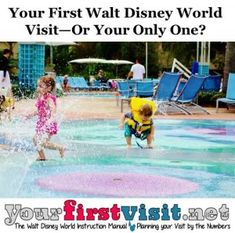 How old or tall should your kids be for your first Disney World Visit (or Your Only One)?  ... and other helpful tips from yourfirstvisit.net