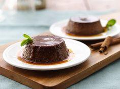 Mexican Flan Recipe - Chocolate Mexican Style Flan   QueRicaVida.com