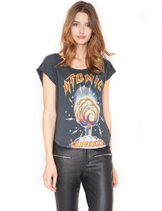 Atomic Graphic Tee - Cute Graphic Tees - Muscle Tee - $55