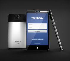 Facebook Phone Concept . http://www.cavitenio.com/2013/04/facebook-phone-facebook-home.html #Facebook
