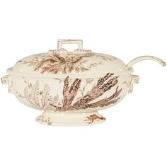 """Wedgwood """"Aesthetic Movement"""" Creamware Soup Tureen  