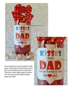 It's Written on the Wall: Fathers Day Gift Ideas For the Kids to Give to Dad-Super Simple #Fathersday  #SodaBottle