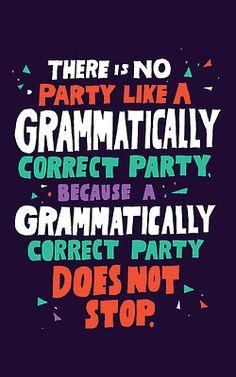 Grammar Party