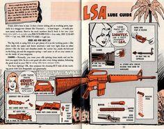 M16 Maintenance Infographic Comic