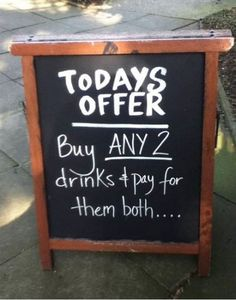 funny signs, funny pictures, funni, anthropologie, drink