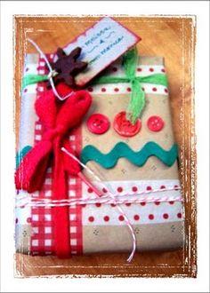 Homespun Wrapping Ideas