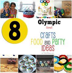 Olympics Crafts Treats and party ideas
