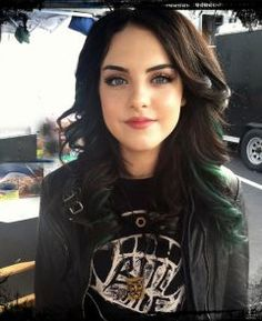 Dramedy necklace worn by Liz Gillies on Nickelodeon's 'Victorious.' Available only at DreSwain.com. Hair Colors, Elizabeth Gillies, Black Hair, Jade, Makeup, Beauti, Green Hair, Brown Hair, Liz Gilli