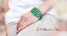 Emeralds for a Taurus - moi!