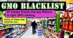 Blacklisted: GMO Supporting Food Companies to Avoid http://eatlocalgrown.com/article/11357-blacklisted-12-food-companies-to-avoid.html Another reason to skip processed foods.  Genetically Modified Foods.   #NUTRIE has all natural ingredients at #THERAPEUTIC levels that have positive impact on your body.  www.dalia.mynutrie.com