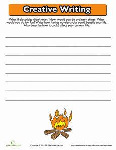 Creative Writing: Electricity Worksheet