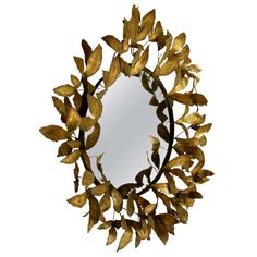 Sculptural Mirror By Curtis Jere 1968 | From a unique collection of antique and modern wall mirrors at http://www.1stdibs.com/mirrors/wall-mirrors/