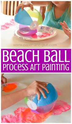 Beach Ball Painting-
