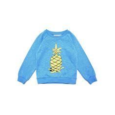 Blue Pineapples sweater SS14 Mini ROdini