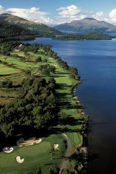 Loch Lomond Golf Club, Scotland.