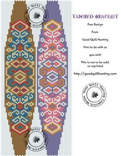 bead pattern, bracelets, bracelet perles, peyote beading patterns, beadwork