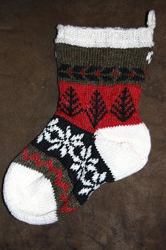 Ravelry: drerani's fair isle stocking