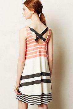 Striped Duet Dress - anthropologie.com