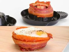 Everybody loves bacon! The sizzle, the scent, the mouth-watering taste. Introducing Perfect Bacon Bowl. Everything is better in a Bacon Bowl.