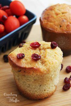Cranberry Coffee CakeMuffin