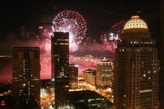 Thunder Over Louisville. One of my most favorite times of the year: Derby kickoff event.