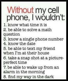 reminds me of Shealy...how did I live through my teenage years without a cell phone?