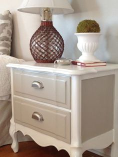 Two It Yourself nightstand after