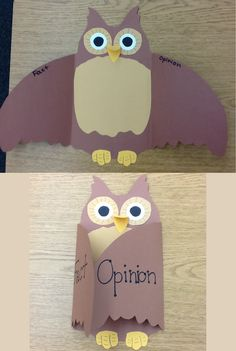 Fact and Opinion Owl :)