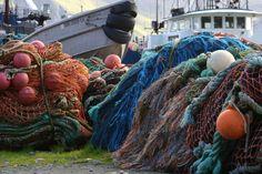 Dutch Harbor net piles, Aleutian Islands, Alaska ❤️Home❤️
