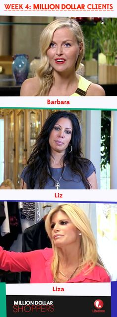 The Fab 3 from last week's episode! #MillionDollarShoppers
