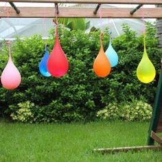 Water Balloon Pinata {party games} - totally doing last day of summer school